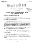 Agriculture News Release - 1993-06-09b