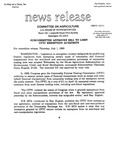 Agriculture News Release - 1993-07-01b