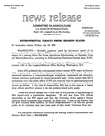 Agriculture News Release - 1993-07-16c