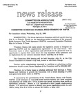 Agriculture News Release - 1993-07-21