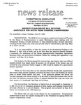 Agriculture News Release - 1993-07-27
