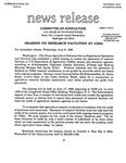 Agriculture News Release - 1993-06-09a