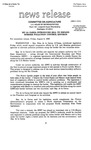 Agriculture News Release - 1993-08-06