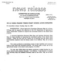 Agriculture News Release - 1993-09-21a