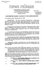 Agriculture News Release - 1993-09-30
