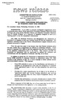 Agriculture News Release - 1993-11-10a