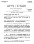 Agriculture News Release - 1994-01-27 by United States. Congress. House. Committee on Agriculture and E. De la Garza