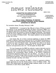 Agriculture News Release - 1994-02-03b by United States. Congress. House. Committee on Agriculture and E. De la Garza