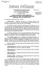 Agriculture News Release - 1993-10-15