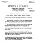 Agriculture News Release - 1994-05-24 by United States. Congress. House. Committee on Agriculture and E. De la Garza