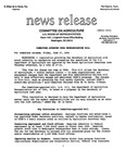 Agriculture News Release - 1994-06-17a by United States. Congress. House. Committee on Agriculture and E. De la Garza