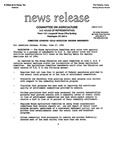 Agriculture News Release - 1994-06-17b by United States. Congress. House. Committee on Agriculture and E. De la Garza