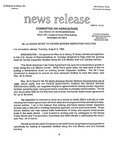 Agriculture News Release - 1994-08-02a by United States. Congress. House. Committee on Agriculture and E. De la Garza