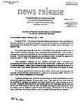 Agriculture News Release - 1994-10-03c