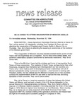 Agriculture News Release - 1994-11-30