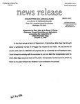 Agriculture News Release - 1994-10-03a