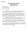 News Release - 1967-10-23 by E. De la Garza