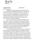 News Release - 1967-11-16 by E. De la Garza
