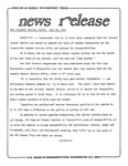News Release - 1980-07-25