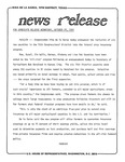 News Release - 1980-10-29