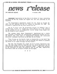 News Release - 1988-10-04