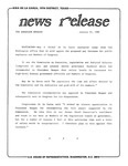 News Release - 1989-01-25