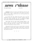 News Release - 1989-05-15b