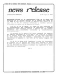 News Release - 1989-05-15c