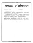 News Release - 1989-10-06