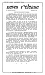 News Release - 1990-08-30c