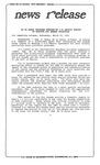 News Release - 1992-03-25b by E. De la Garza