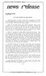 News Release - 1992-04-02 by E. De la Garza
