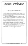 News Release - 1992-04-03a by E. De la Garza