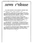 News Release - 1992-12-08