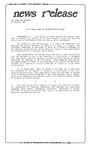 News Release - 1993-02-10 by E. De la Garza