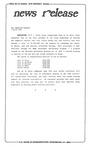 News Release - 1993-03-03 by E. De la Garza