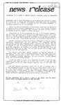 News Release - 1993-06-03 by E. De la Garza