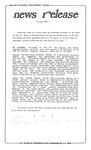 News Release - 1993-06-24 by E. De la Garza
