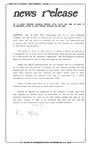 News Release - 1993-06-30 by E. De la Garza