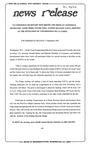 News Release - 1993-09-09 by E. De la Garza