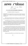 News Release - 1993-09-30 by E. De la Garza