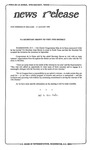 News Release - 1993-08-17 by E. De la Garza