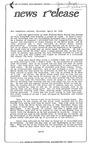 News Release - 1994-04-23 by E. De la Garza