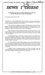 News Release - 1994-06-28b by E. De la Garza