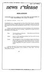 News Release - 1994-07-08 by E. De la Garza