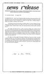 News Release - 1994-08-20 by E. De la Garza