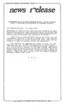 News Release - 1994-10-21a by E. De la Garza