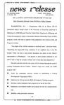 News Release - 1994-10-21b by E. De la Garza