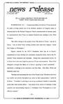 News Release - 1994-11-01 by E. De la Garza