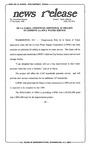 News Release - 1994-11-17 by E. De la Garza
